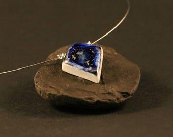 Blue Diamond Locket