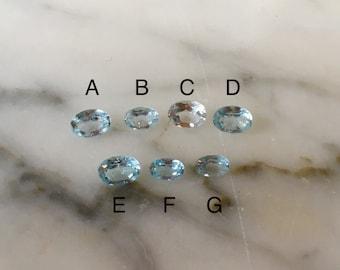 Loose Blue Topaz Gemstones