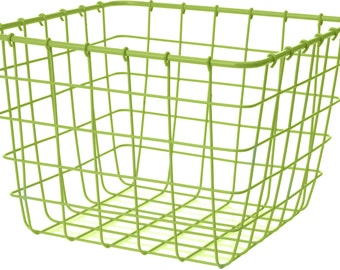Basket metal wire lime