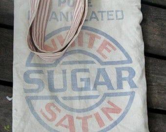 Vintage Sugar Sack Tote Bag