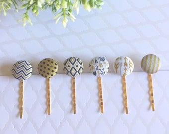 CLEARANCE** Fabric Paperclips