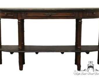 GUILDMASTER 60″ Demilune Console Table