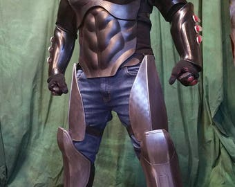 Red Hood Full Armor foam Templates