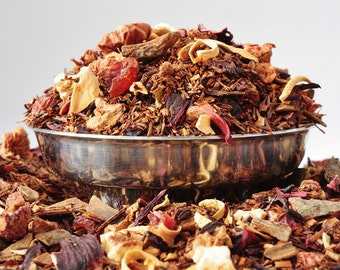 Cinnamon Orange Rooibos Herbal tea- Tea - Rooibos - Cinnamon Tea - Caffeine Free Tea - Loose Leaf Tea - Tea - Tea Gift