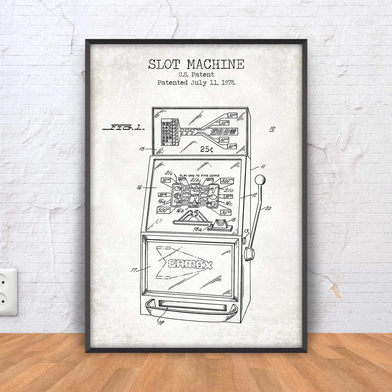 slot machine posters