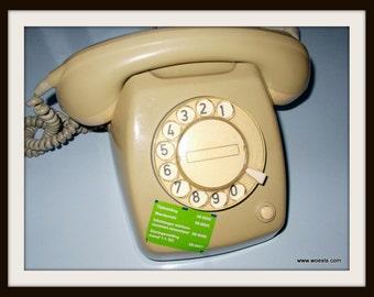 Vintage PTT type T65 telephone (standard version grey)