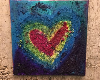 PLANET HEART Original Painting