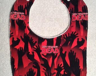 Walking Dead Baby Bibs!