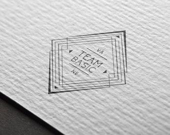 Logo- Art Deco, Clean, Gatsby (Pre-Made)