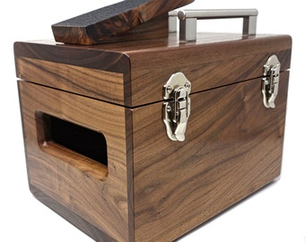Executive Shoe Shine Box // Black Walnut
