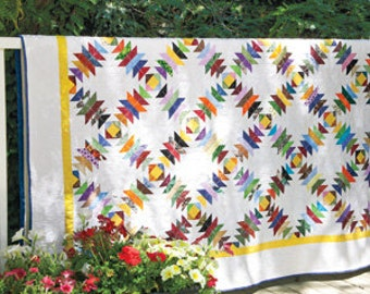 Pineapple Tidbits Bed Quilt