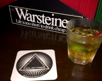 Drink Coasters by Double Standard Industries LLC