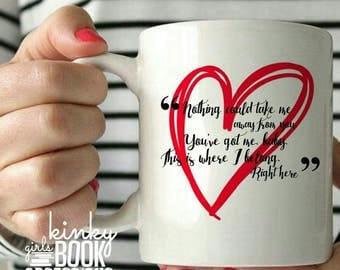 Where I Belong Ceramic Mug