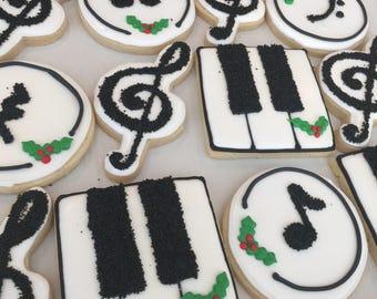 2 doz Music Cookies