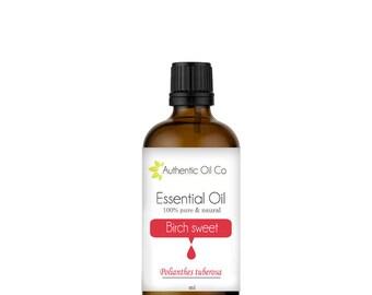 Birch sweet Essential oil Essential Oil 100% Pure 10ml 50ml 100ml