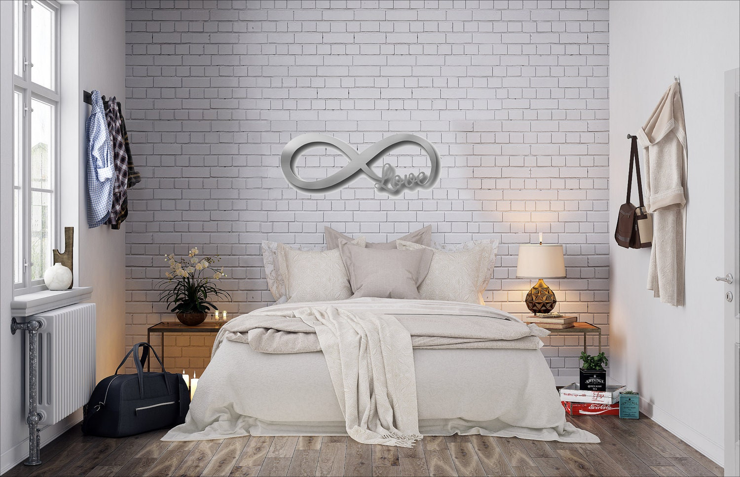 Infinity Symbol Metal Wall Art Love Metal Wall Art Love Sign Wall Decor