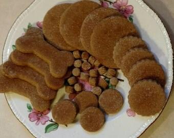 Dog Treats Peanut Butter Banana Dog Treats made with Organic Ingredients Gluten Free Dog Treats Healthy Dog Treats