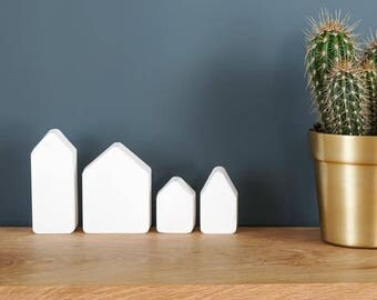 DIY KIT - Ceramic houses