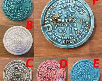 New Orleans Water Meter Magnets