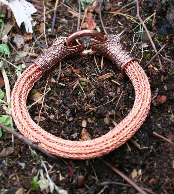 Copperhead Viking Knit Bracelet (TK)