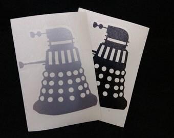 Dalek vinyl decal