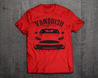 Aston Martin shirts, Aston Martin Vanquish, 007 t shirts, Cars t shirts, men tshirts, women t shirts, fast car shirts, Aston Martin t shirts