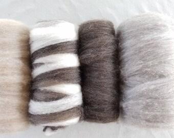 15.1 oz Finn Pindrafted Wool - Sampler