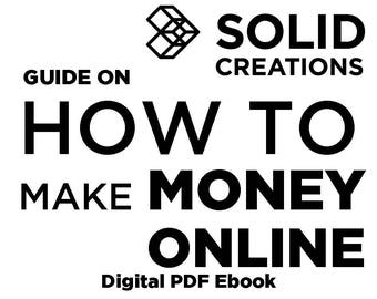 How To Make Money Online - Digital eBook Guide on How to Create an Online Business