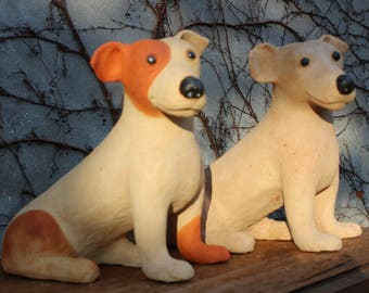 Art Ceramic dog
