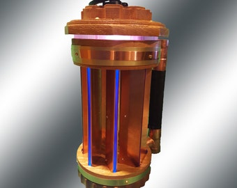 Steampunk Watchman's Lantern Lamp