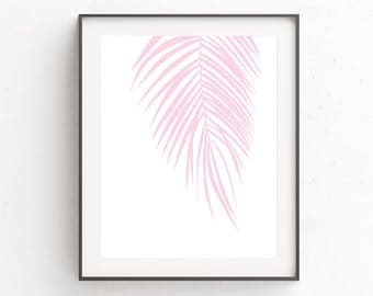Palm Leaves Print | Printable Leaf Palm | Tropical Leafs Prints