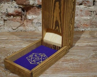 Dice Tower Etsy