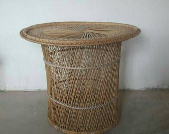 Big Rattan Coffeetable