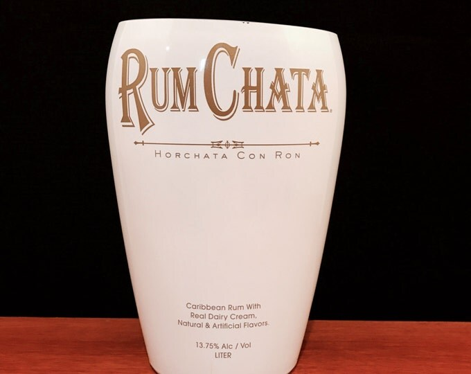 Rum Chata Bottle Candle