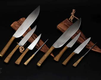 In stock: 2 knife sets in 15-16th century style