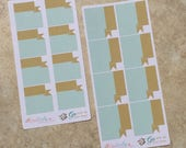 GO With All YOUR HEART Monthly Calendar Banner Box Stickers: Appointment, Events, Occasions inkWELL Press LucKaty