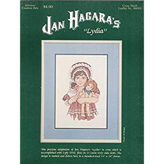 Jan Hagara Cross Stitch Patterns: LYDIA By Jan Hagara Cross Stitch Pattern From GimmeCrafts