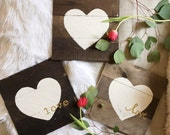 Reclaimed Wood Heart Sign...