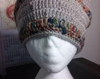 Desert Sand - Hand Crocheted Beanie