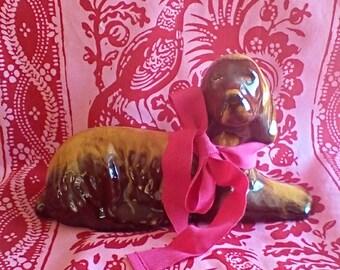1970's Ceramic Dog