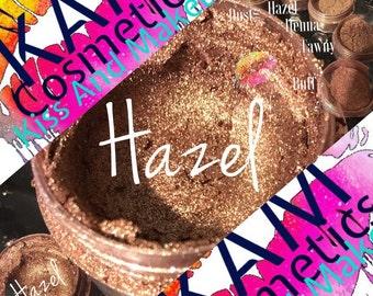 Hazel-Ultra Glow Shimmering Bronze Highlighter 5gr Jar
