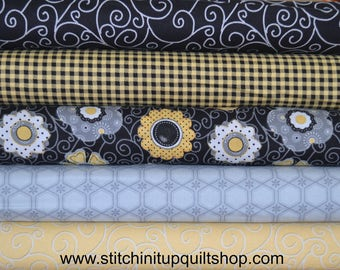 Sew Bee It Fabric by Henry Glass - Fat Quarter Bundle