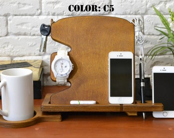 Exceptional Phone Holder NOT Lake House Decor Home Bar Decor Home Bar Furniture Log  Cabin Decor Wooden