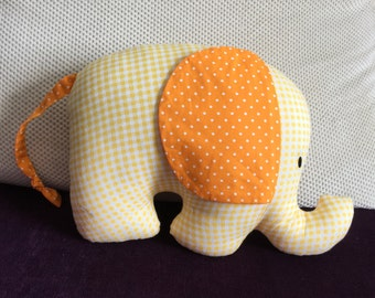 Cute and Sweet Yellow Elephant Softie