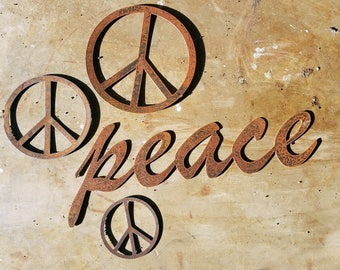 Peace Signs - 4 pieces