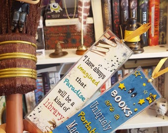 Books are a uniquely porable magic bookmark - Hadmade