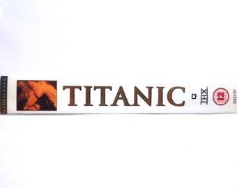 Titanic handmade BOOKMARK [Leonardo DiCaprio, Kate Winslet]