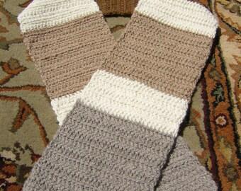 Crazy Soft Alpaca Wool Scarf