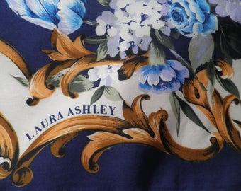 Vintage Laura Ashley Silk Scarf