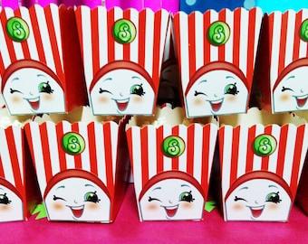 Poppy Corn Shopkins Popcorn snack Box